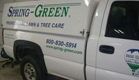 Spring-Green Lawn Care franchise truck